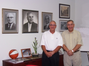 Former Owners of Flower City Glass: James and Richard Gianforti