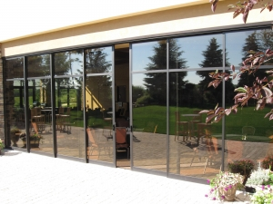 Commercial Sliding Glass Doors And Folding Doors Flower