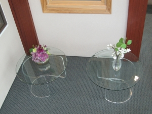 Glass Furniture & Glass Table Tops