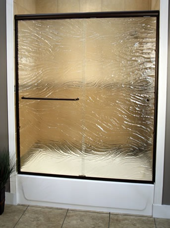 Glass Shower Doors Shower Enclosure Glass Flower City Glass
