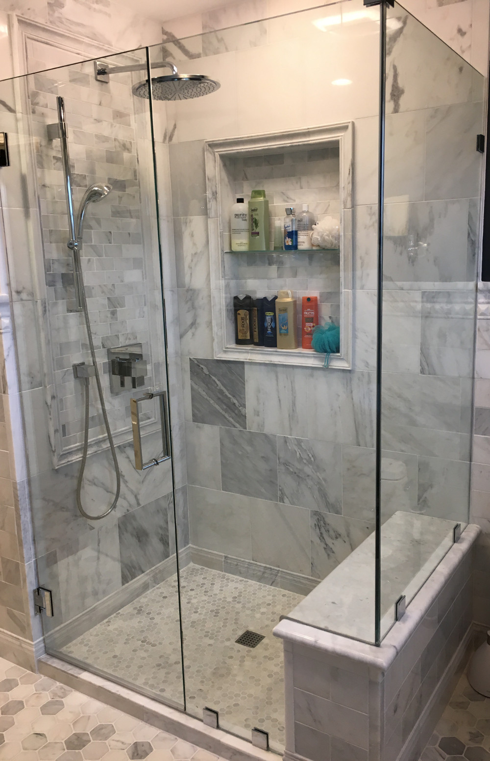 Glass Shower Door Installations - Rochester & Syracuse, NY | Flower ...